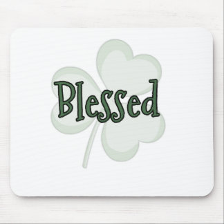 Blessed St. Patrick's Day Design Mouse Pad