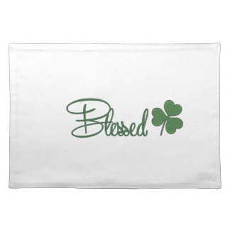Blessed St. Patrick's Day Design ☘ Placemat
