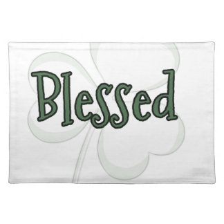 Blessed St. Patrick's Day Design Placemat