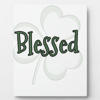 Blessed St. Patrick's Day Design Plaque