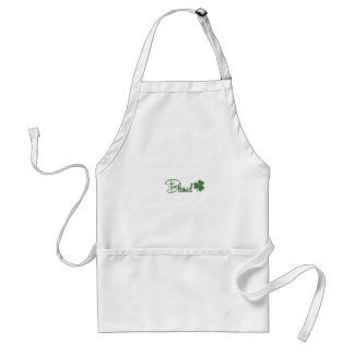 Blessed St. Patrick's Day Design ☘ Standard Apron