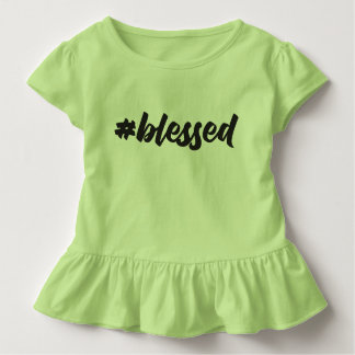 Blessed Toddler Ruffle Tee