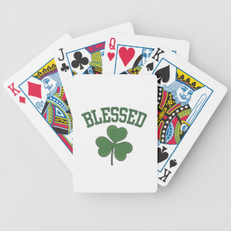 BLESSED Varcity Design Bicycle Playing Cards