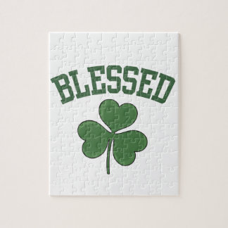 BLESSED Varcity Design Jigsaw Puzzle