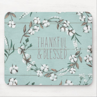 Blessed VI Mint | Thankful & Blessed Mouse Pad