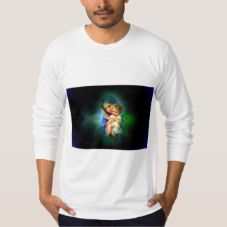 Blessed Virgin Mary and Infant Child Jesus T-Shirt