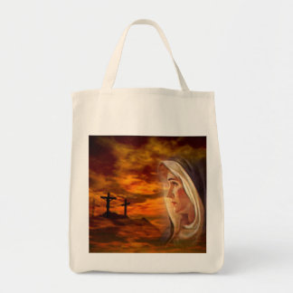 Blessed Virgin Mary at Calvary Tote Bag