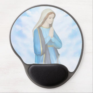 Blessed Virgin Mary Gel Mouse pad