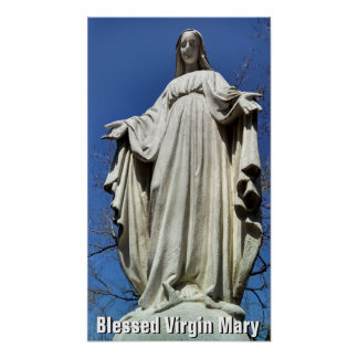 Blessed Virgin Mary II Poster