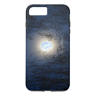 Blessed Virgin Mary in the Moon Lite Forest iPhone 7 Plus Case