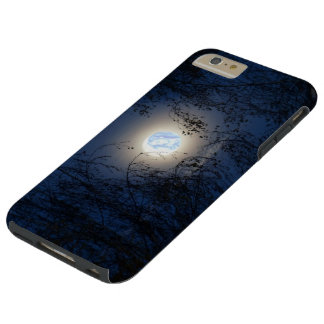 Blessed Virgin Mary in the Moon Lite Forest Tough iPhone 6 Plus Case