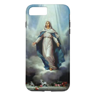 Blessed Virgin Mary  - Light Shine Upon You iPhone 8 Plus/7 Plus Case