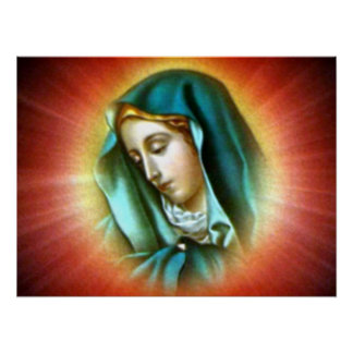 Blessed Virgin Mary - Mother of God Poster
