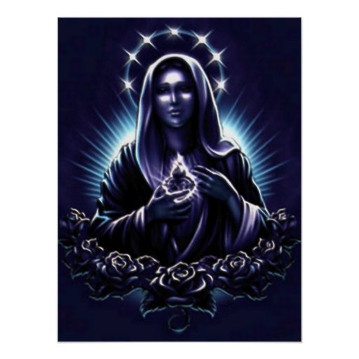 Blessed Virgin Mary - Mother of God Posters