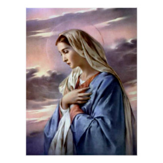 Blessed Virgin Mary - Mother of God Print