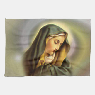 Blessed Virgin Mary - Mother of God Tea Towel