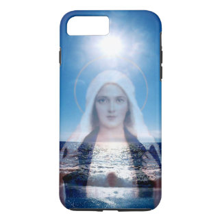 Blessed Virgin Mary Over Water iPhone 7 Plus Case