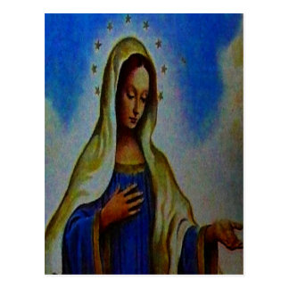Blessed Virgin Mary Postcard