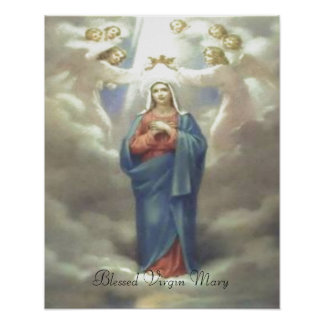 Blessed Virgin Mary print