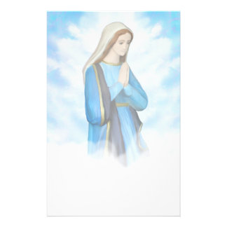 Blessed Virgin Mary Stationery