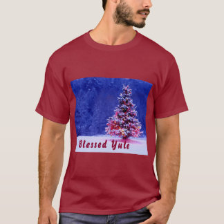 Blessed Yule Greetings T-Shirt