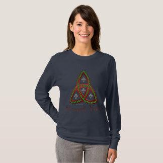Blessed Yule  Ladies Long Sleeve Shirt