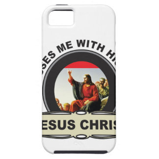 blesses me with his love iPhone 5 case