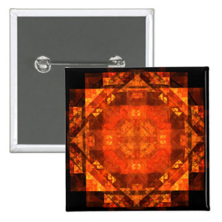 Blessing Abstract Art Button (square)