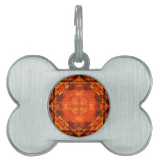 Blessing Abstract Art Pet ID Tag