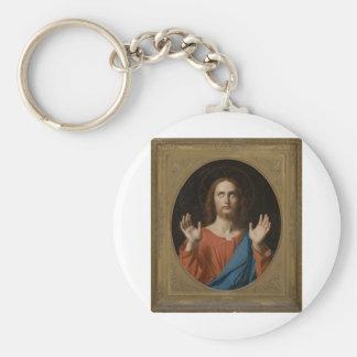 Blessing Christ circa 1834 Keychains