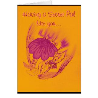 Blessing flower card