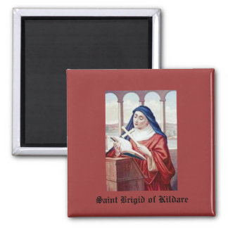 Blessing From Saint Brigid Square Magnet