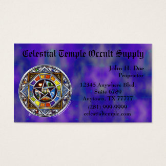 Blessing of Elements Business Card