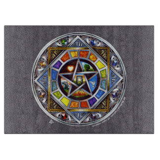 Blessing of Elements Rectangular Cutting Board
