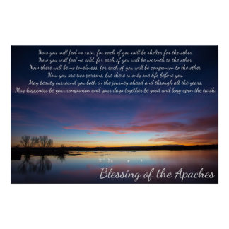 Blessing of the Apaches Poster
