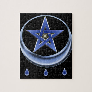 Blessing Symbol and pentagram Puzzles