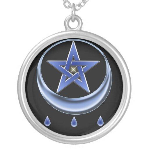Blessing Symbol Pentagram Necklaces