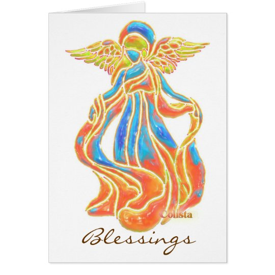 Blessings Angel Card