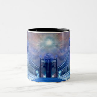 Blessings at the Gates Two-Tone Coffee Mug