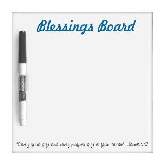 Blessings Board: Christian whiteboard ideas