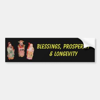 Blessings bumper sticker