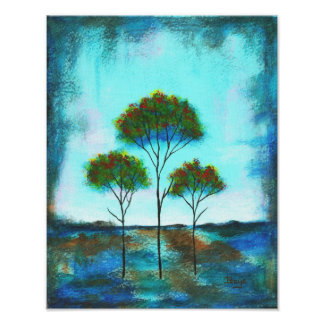 Blessings Canvas Print From Original Painting