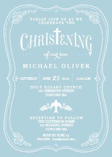 boy christening baptism invitations zazzle com au