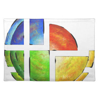 Blessinia - colourful sun placemat