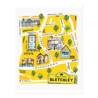 Bletchley (Milton Keynes0 postcard