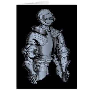 Bleu Knight Greeting Card