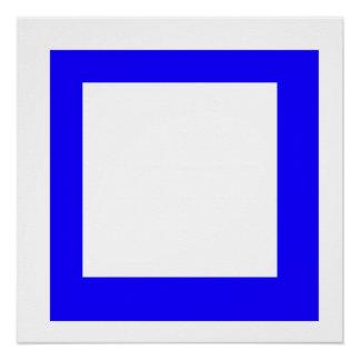 Bleu square