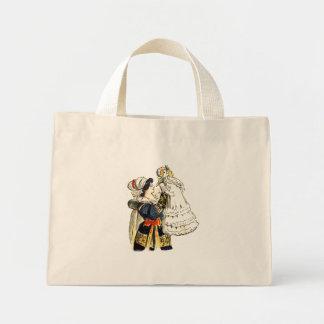 Bleuette in Christening Dress Canvas Bag