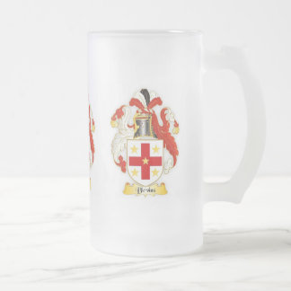 Blevins Family Crest Heraldry Frosted Mug