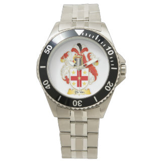Blevins Family Crest Mens Stainless Steel Watch